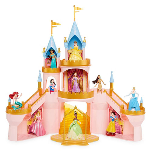 Disney 1 11-Piece Disney Princess Toy Playset for Girls