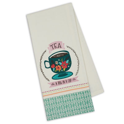 Tea Party Printed Dishtowel Set - Set of 3