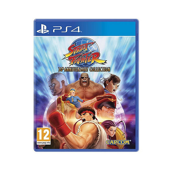 Playstation 4 Street Fighter 30th Anniversary Collection Video Game