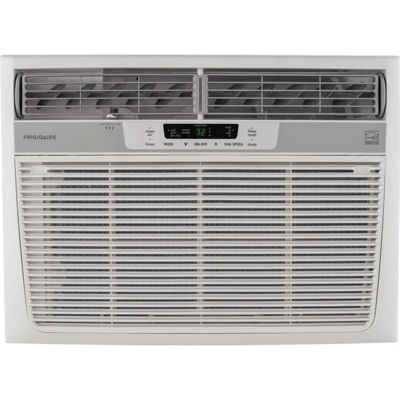 Frigidaire 15100 BTU 115V Window-Mounted Median Air Conditioner with Temperature Sensing Remote Control