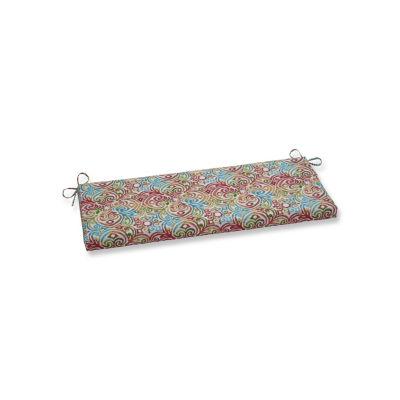Pillow Perfect Corinthian Dapple Patio Bench Cushion