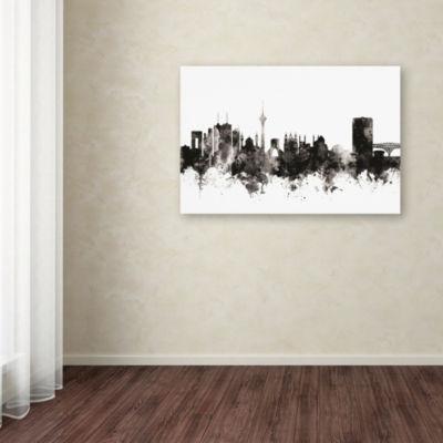 Trademark Fine Art Michael Tompsett Tehran Iran Skyline I Giclee Canvas Art