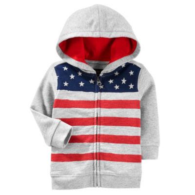 Oshkosh American Hoodie-Baby Boys