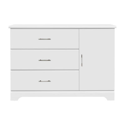 Storkcraft Brookside 3 Drawer Combo Dresser