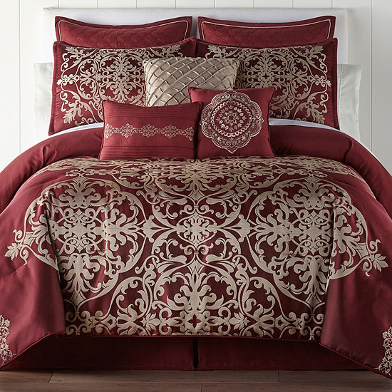 9716d585a JCPenney Home Creston 7 pc Comforter Set JCPenney