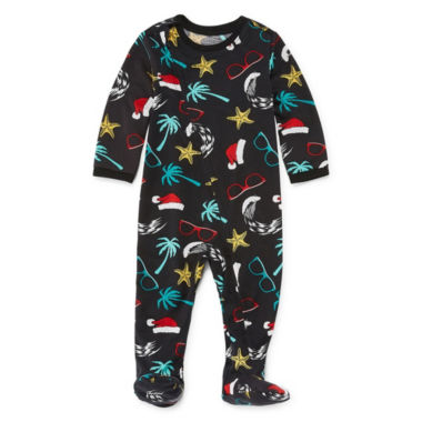 Footed North Pole Trading Company Good Tidings 1 Piece Pajama Set -Baby Unisex