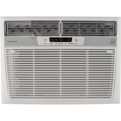 Frigidaire 25000 BTU 230V Window-Mounted Heavy-Duty Air Conditioner with Temperature Sensing RemoteControl