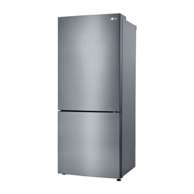 "LG ENERGY STAR® 15 cu. ft. Large Capacity 28"" Wide, Counter Depth, Bottom Freezer Refrigerator"