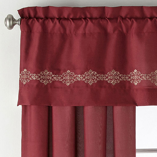JCPenney Home Creston Rod-Pocket Curtain Panel