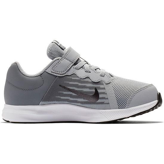 Nike Downshifter 8 Wide Boys Running Shoes - Little Kids
