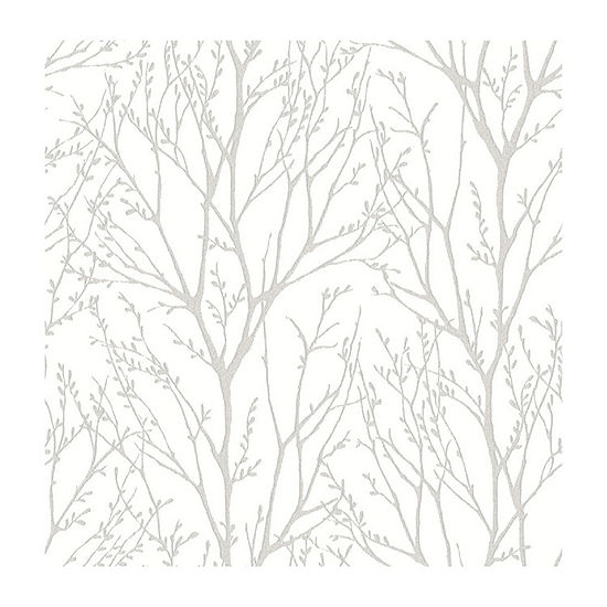 Brewster Wall Treetops Peel Stick Wallpaper Wall Decal