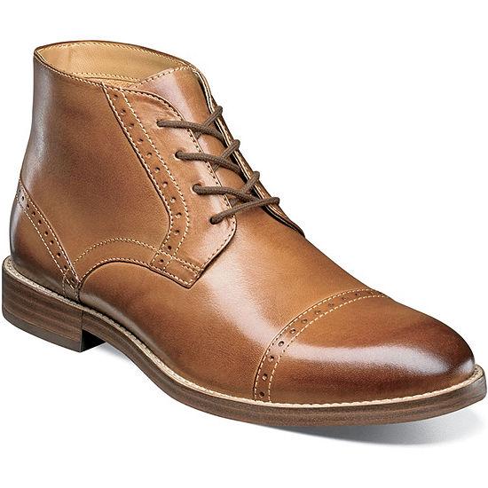 Nunn Bush Mens Chukka Boots Flat Heel