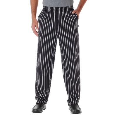 White Swan Unisex Chef Pants-Big