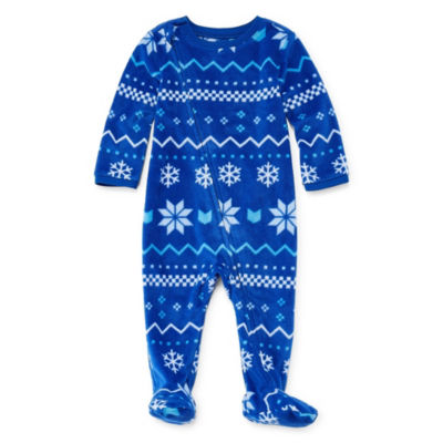 North Pole Trading Company Chillin 1 Piece Footed Pajama -Baby Unisex