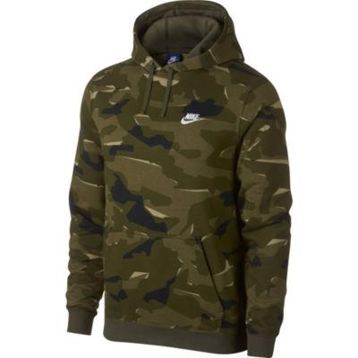 Nike Mens Long Sleeve Embroidered Hoodie