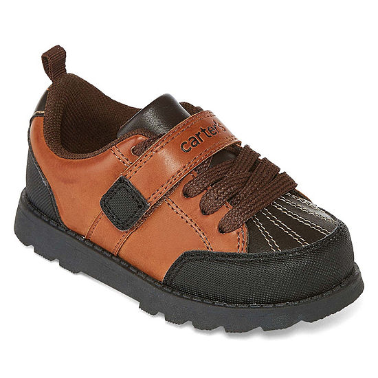Carter's Benelli Boys Hook and Loop Round Toe Slip-On Shoes