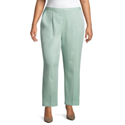 Alfred Dunner Day Dreamer Classic Fit Pant - Plus Short