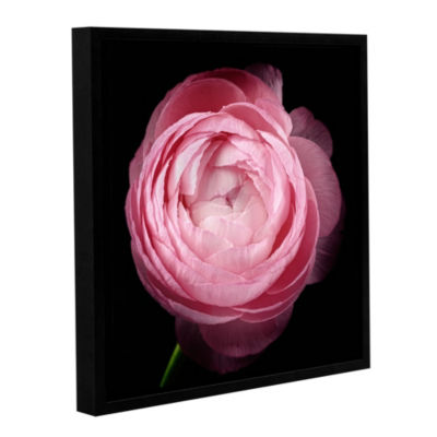 Pink III Floater-Framed Gallery Wrapped Canvas