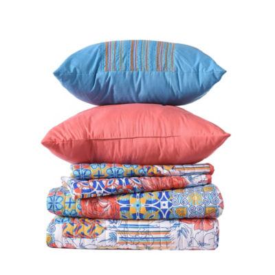 Pacific Coast Textiles 5-pc. Bellanova Reversible Quilt Set