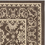 Safavieh Courtyard Collection Ilija Oriental Indoor/Outdoor Area Rug