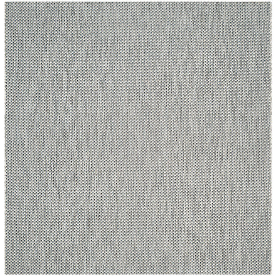 Safavieh Courtyard Collection Flora Geometric Indoor/Outdoor Square Area Rug