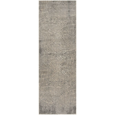 Safavieh Meadow Collection Elyse Geometric RunnerRug