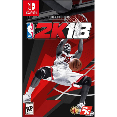 Nintendo Switch Nba 2k18 - Legend Edition Video Game