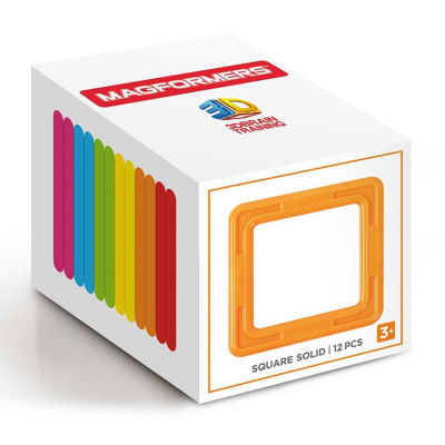 Magformers Square Solid 12PC Set