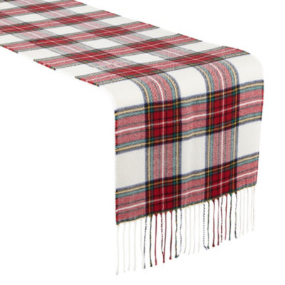North Pole Trading Co. Tartan Plaid Table Runner