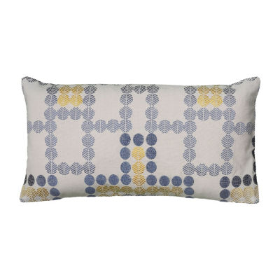 Rizzy Home Mars Geometric Decorative Pillow