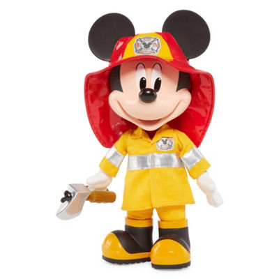 Disney Fire Rescue Talking Mickey Doll