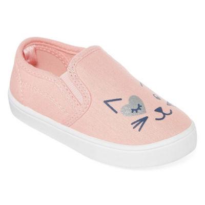 Carter's Toddler Girls Tween8 Slip-On Shoe Round Toe