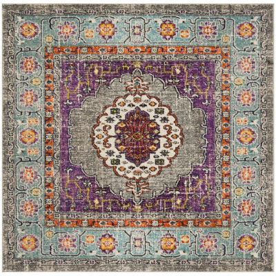 Safavieh Monaco Collection Zahara Oriental Square Area Rug