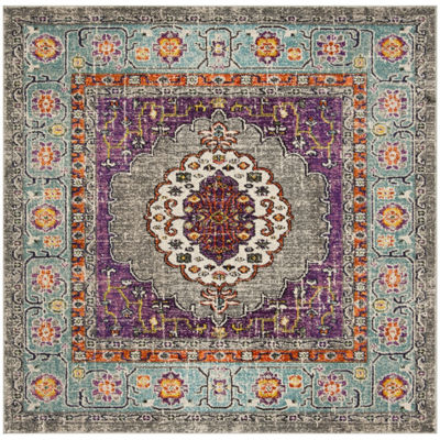 Safavieh Monaco Collection Zahara Oriental SquareArea Rug