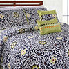 Pacific Coast Textiles Cadiz 5-pc. Reversible Quilt Set