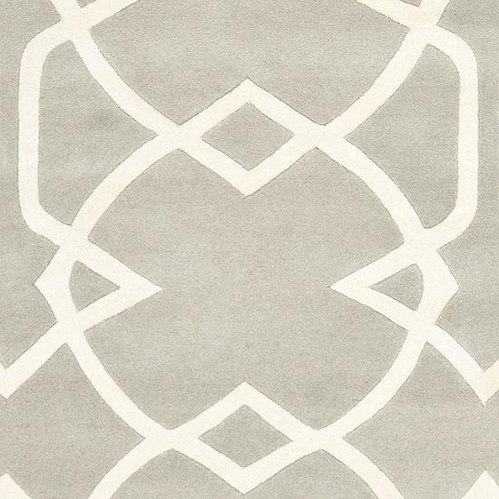 Safavieh Capri Collection Cindra Geometric Round Area Rug