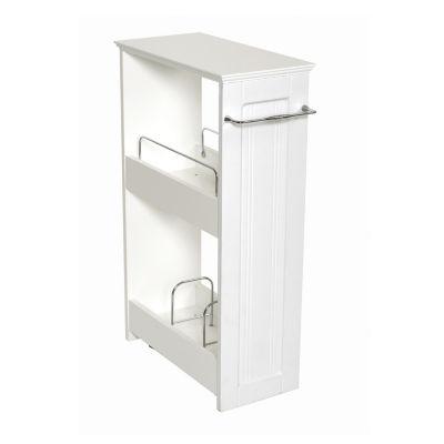 Zenna Home Slim 2-Shelf Bathroom Shelf