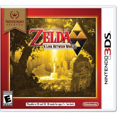 Nintendo 3DS Nintendo Selects - The Legend Of Zelda: A Link Between Worlds Video Game