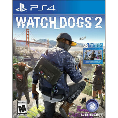Playstation 4 Watch Dogs 2 Video Game