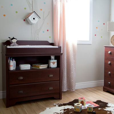 Fundy Tide Changing Table and 4-Drawer Chest