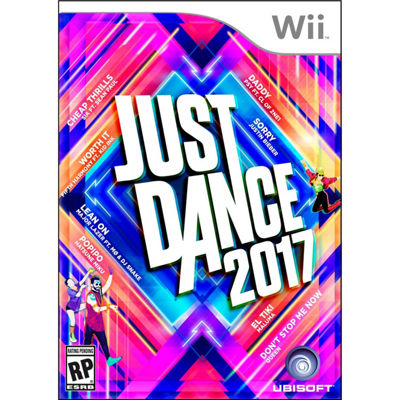 Wii Just Dance 2017 Video Game