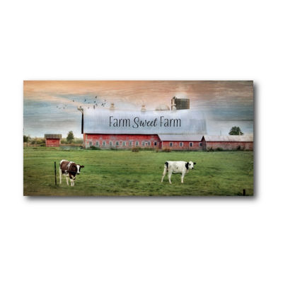 Farm Sweet Farm Canvas Art