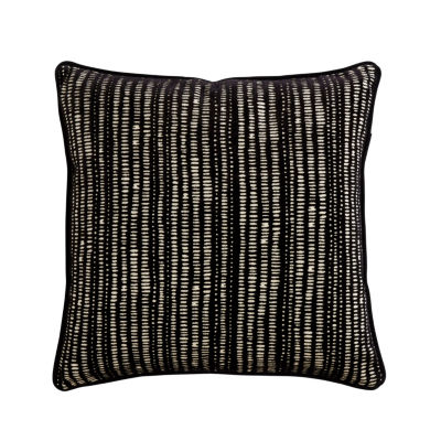 Manuscript Square Throw Pillow