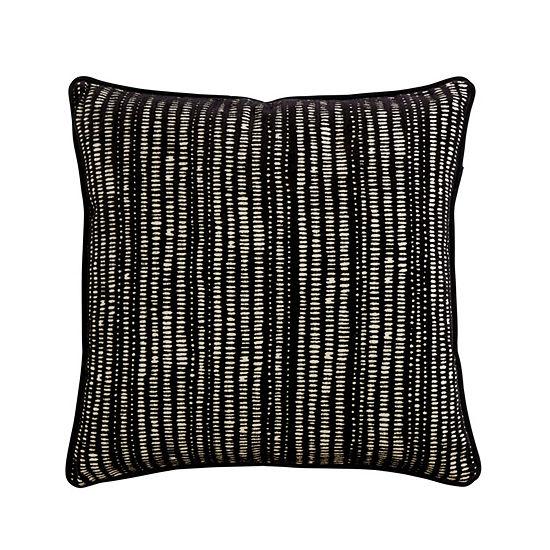Manuscript Square Throw Pillow