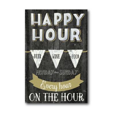 Happy Hour Canvas Art