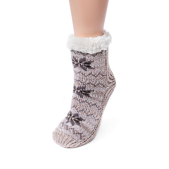 Muk Luks 1 Pair Crew Socks - Womens