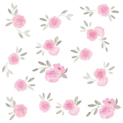 Brewster Wall May Flowers Wall Art Kit Wall Decal