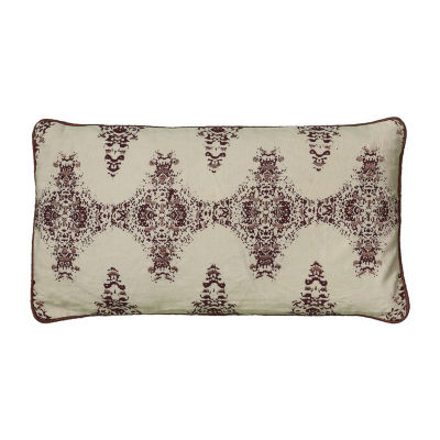 Rizzy Home Hank Floral Decorative Pillow