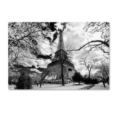 Trademark Fine Art Philippe Hugonnard Eiffel Tower Giclee Canvas Art