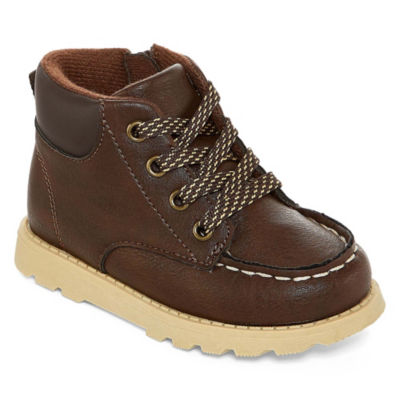 Carter's Toddler Boys Brand Bootie Flat Heel Lace-up